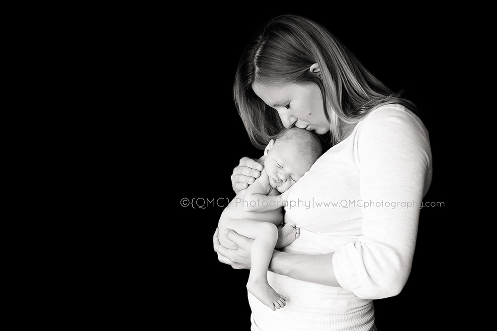 Calgary Alberta Newborn Photographer 819BW From Bump to Brand New | Calgary Alberta Maternity & Newbonr Photographer