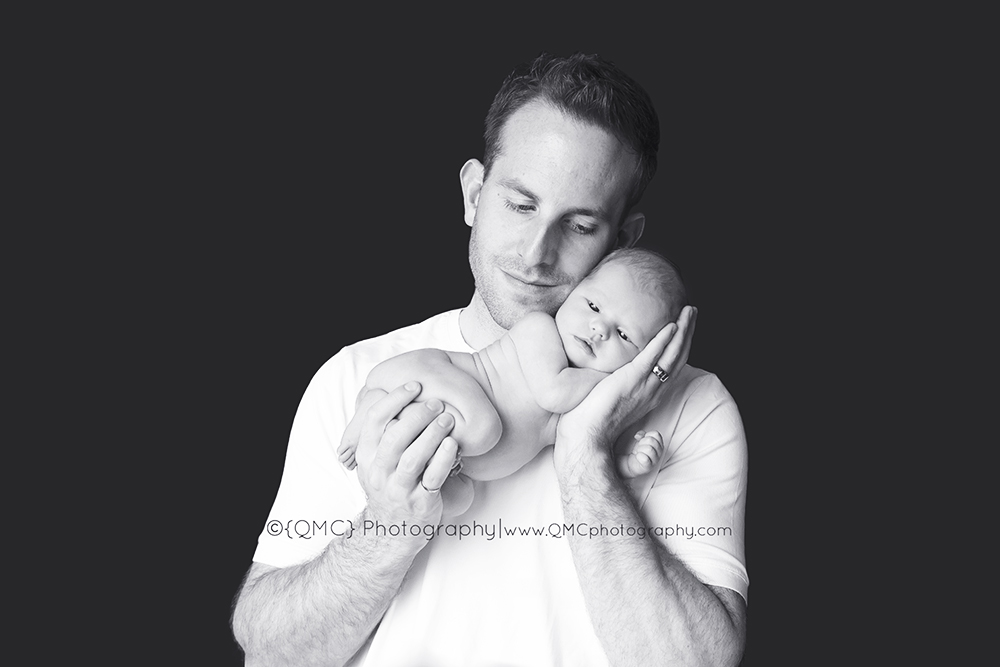 Calgary Alberta Newbonr Baby Photographer 526BW Sweet Little Abbey | Calgary Alberta Newborn Photographer