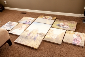 009 300x200 Family Art | Canvas Wall | Calgary Alberta Newborn Photographer