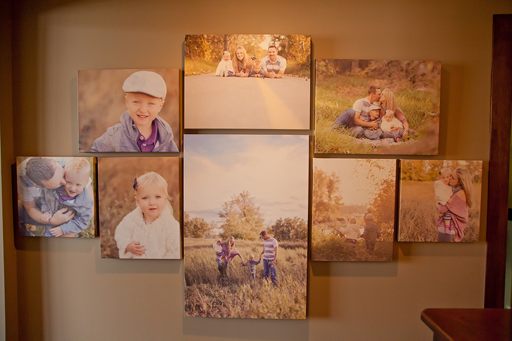 017 Family Art | Canvas Wall | Calgary Alberta Newborn Photographer